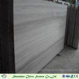 壁のタイルまたはカウンタートップのための材木の灰色の大理石のタイルか木製の灰色の大理石の平板の灰色の穀物の大理石