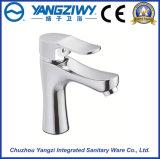 Grifo de cobre amarillo del lavabo de la nueva alta calidad del diseño Yz5907
