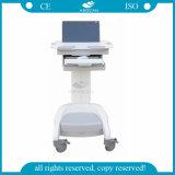Gebrauch ABS-materielle PC Kasten-Laptop-Laufkatze des Krankenhaus-AG-Wt005