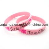 Wristband feito sob encomenda por atacado do silicone com Thb-059