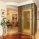 Лифт дома подъема виллы низкой стоимости малый стеклянный домашний