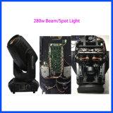 Головка этапа луча освещения 280W этапа светлая Moving