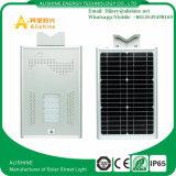 Installation facile 20W DEL solaire toute dans un réverbère