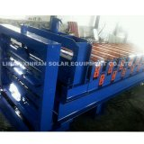 Rullo d'acciaio che forma macchina con la linea di produzione della macchina piegatubi del metallo del rullo della lamiera sottile