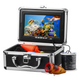 """7匹の"""" LCD HDの30mケーブル及びDVR機能の水中ビデオ・カメラの魚のファインダー"""