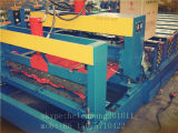 Azulejo de azotea del metal que forma la máquina