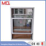 Alluminio scorrevole verticale in su giù la finestra di scivolamento Mq-07