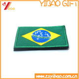 Promotiom Flag Patch, Embroidery Badge, Woven Label, Garment Accessories (YB-EMBRO-414)