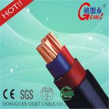 À un noyau aucun câble d'alimentation isolé par XLPE blindé jusqu'à 15kv