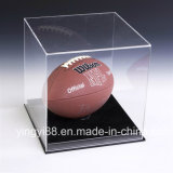 Clear Acrylic Baseball Display Case con Base Negro