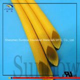 2.5kv het flexibele Silicone bedekte de Gebreide Kokers van de Glasvezel met een laag