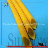 2.5kv de Met een laag bedekte Vezel van de Isolatie UL van de Uitrusting van de draad Silicone - de Kokers van het glas