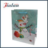 Snow Man Printed Christmas Holiday Design Personalizar Candy Paper Bag