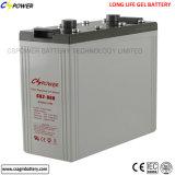batterie exempte d'entretien du gel 2V300ah pour le système solaire
