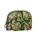 昇進のための緑PVC防水方法女性の装飾的な袋
