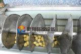Tipo grande lavado vegetal del ñame/de la patata/de la zanahoria del tornillo y peladora