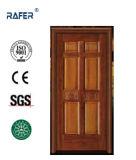 内部100%の固体木のドア(RA-N022)
