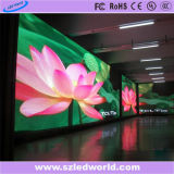Visualización de LED a todo color de interior/pared video flexible del LED Display/LED (P3, P4, P5, P6)