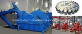 ハイドロ(Water) Turgo Turbine水力電気Generator 50-350m Head/Hydropower