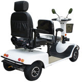 """Vendas de quatro rodas do """"trotinette"""" de motor da escova do assento dobro 800W"""