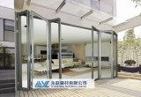 Porte en aluminium se pliante de conception du client 6063 T5