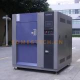 Equipamento de laboratório da câmara do teste de choque térmico do aço inoxidável 3-Zone (KTS-150A)