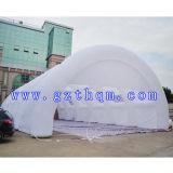 Tente gonflable de mariage blanc, une tente gonflable de grande partie