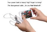 Cargador Pocket tamaño pequeño del teléfono móvil con el enchufe para Samsung