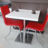Комплект таблицы столовой белых таблиц банкета квадратный