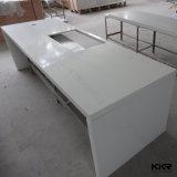 Countertop van de Keuken van het Kwarts van de Badkamers van de Grootte van de douane Lange