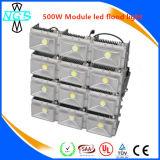 Economia de energia ao ar livre aprovada da luz de inundação do diodo emissor de luz das peças 500W de RoHS Saso ETL do Ce