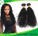 Todo o cabelo humano brasileiro de Remy do Virgin da classe da textura 7A