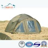 Предохранение от высокого качества водоустойчивое UV хлопает вверх складывая шатер пляжа