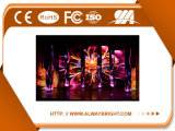 Visualización de LED de alquiler de aluminio de fundición a presión a troquel de la alta calidad P3.91 de la cabina