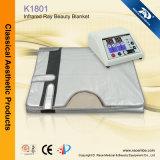 Corpo de aquecimento do infravermelho distante de duas zonas que Slimming o cobertor (K1801)