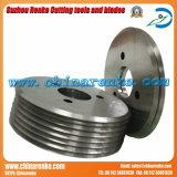 Rotatary лезвия пильный диск с точками ножи для разрезания бумаги