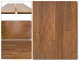 Suelo de bambú tejido de la correa para el uso de interior