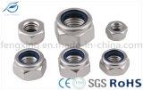 Noix Hex en nylon de DIN982 BS/ANSI