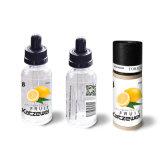 각종 Flavorings /Transparant 실린더 포장의 경쟁적인 E 담배 액체 또는 과일, 맨톨, 유백색, 담배 또는 높은 Vg