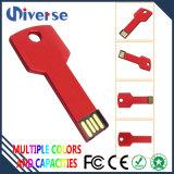 Palillo de la memoria del mecanismo impulsor del flash del USB de la dimensión de una variable del clave del metal de la promoción