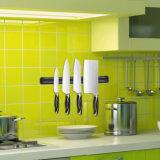 Cremalheira magnética da faca da cozinha plástica colorida do dobro da parede