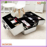 Compartments (SACMC061)를 가진 은 Color Girls Cosmetic Travel Case