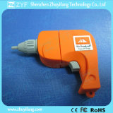 USB su ordinazione Flash Drive di Drill Shape con Logo (ZYF1054)