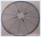 Garde de ventilateur enduit par PVC en métal