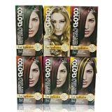 L'estetica di Tazol evidenzia il colore dei capelli (Lemon Colore giallo) (60ml*2+30ml+60ml+10ml)