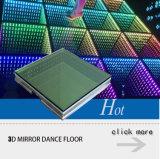 Painel portátil Dance Floor do diodo emissor de luz 3D para o casamento do partido do concerto