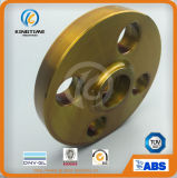Flange do aço de carbono das flanges A105 do interruptor da flange da solda do soquete do ANSI B16.5 (KT0265)