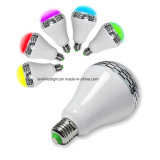 SmartphoneはBluetoothの無線スピーカースマートなLEDの電球を制御した