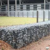 Casella galvanizzata tuffata calda di Gabion per il servizio delle Filippine