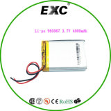 Li-ione Battery Exc985067 3.7V4000mAh Lithium Polymer Battery del polimero per Tablet